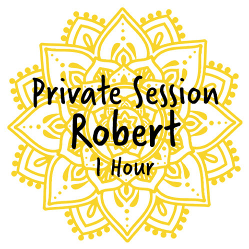 Private Healing Session with Robert (1:00)