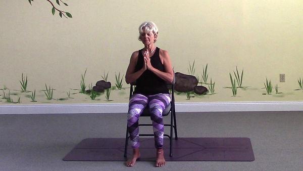 Loving Light Yoga Video Description - Chair Yoga