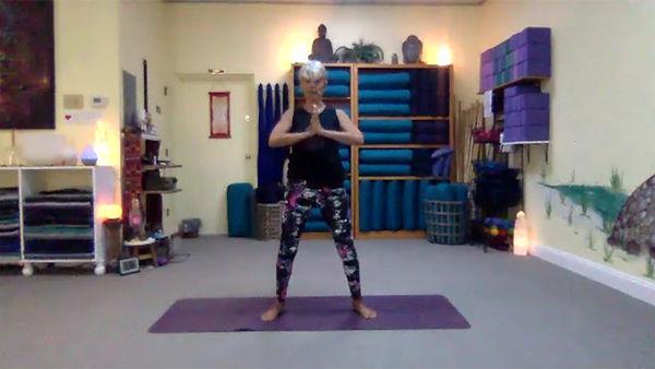 Loving Light Yoga Video Description - Gentle Yoga Flow for Flexibility