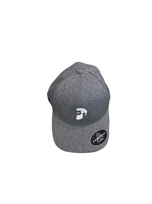 Gray Flexfit cap