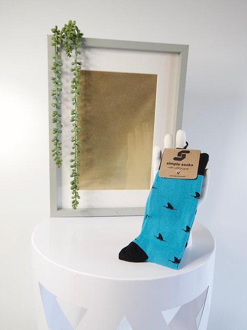 Simple Socks-Shark