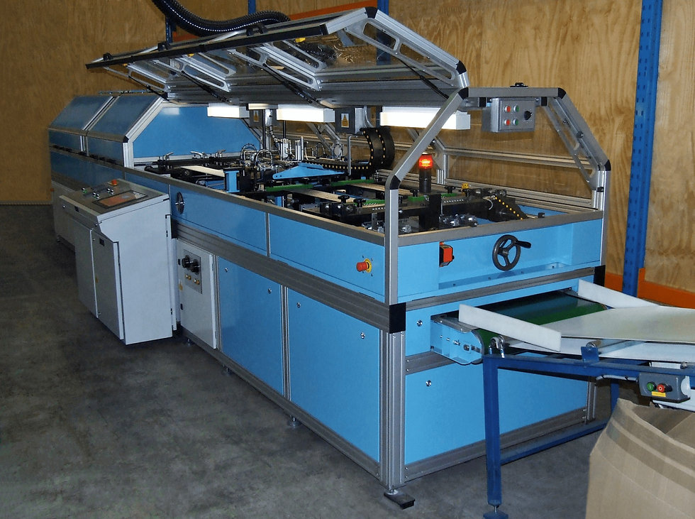 Mid Anglia Engineering - Gauntlet Forming Machine - Battery Manufacturing and Production