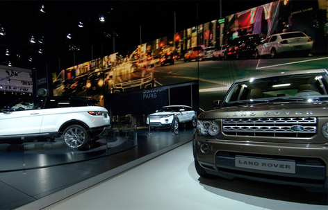 Land Rover Evoque Reveal Wall