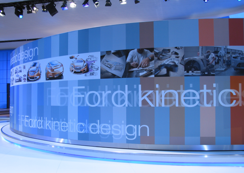 Ford Reveal Wall