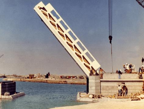 Hacr Channel Bridge, Jeddah