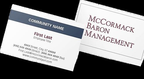 MBM community business card