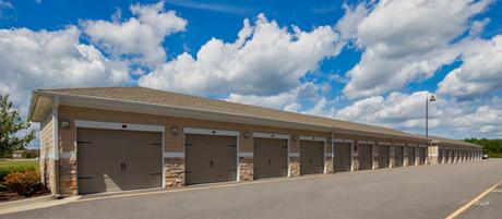 Optional detached garages