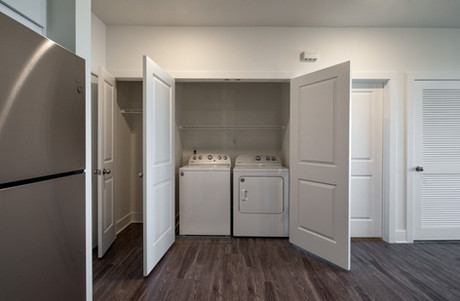 Laundry area w/ in-home washer & dryer