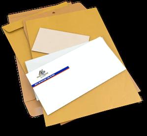 #9 envelope with window