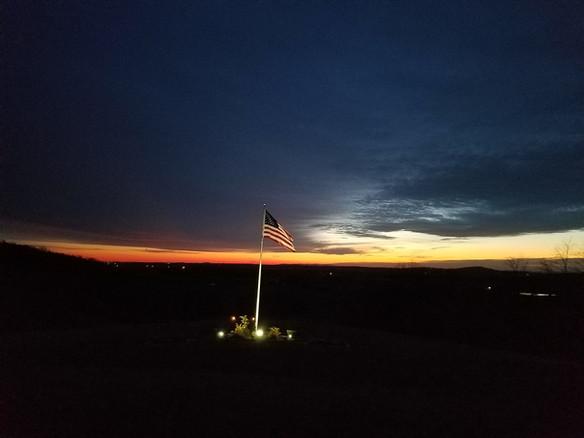 Sunrise at the Lodge