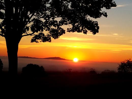 Sunrise over Big Round Top