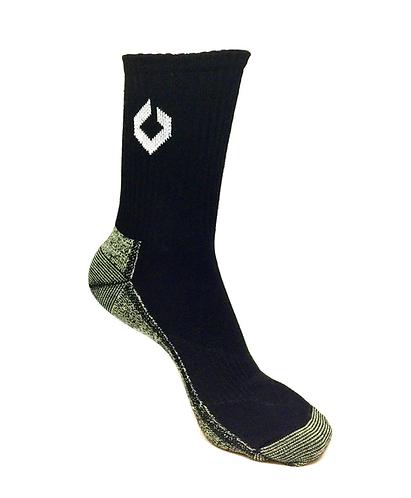 High cut sports socks technology