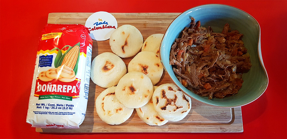 Cooking Colombian Arepas in New Zealand