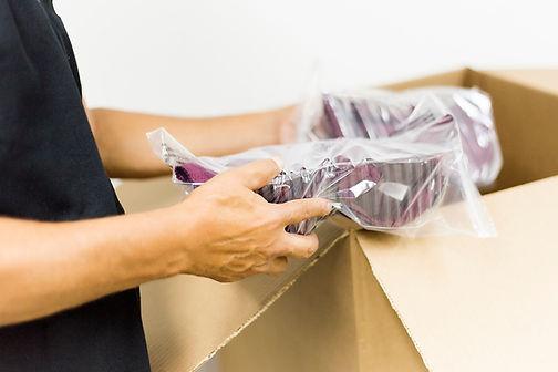 Logística entrega y espacho de ropa interior