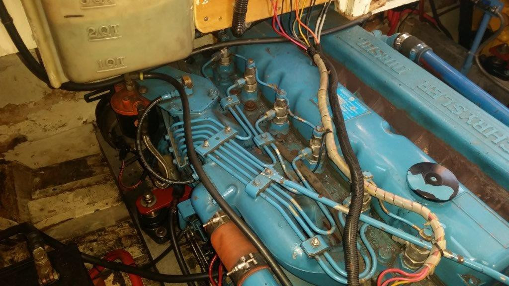 200 hp Mitsubishi, non intercooled, turbo diesel engine for sale