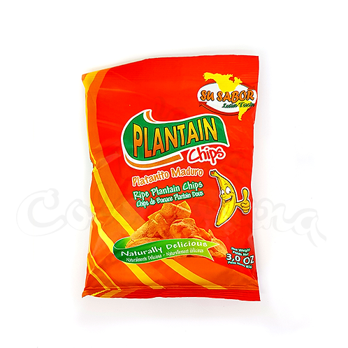 Ripe Plantain chips (Platanitos Dulces) colombian snack in new zealand NZ