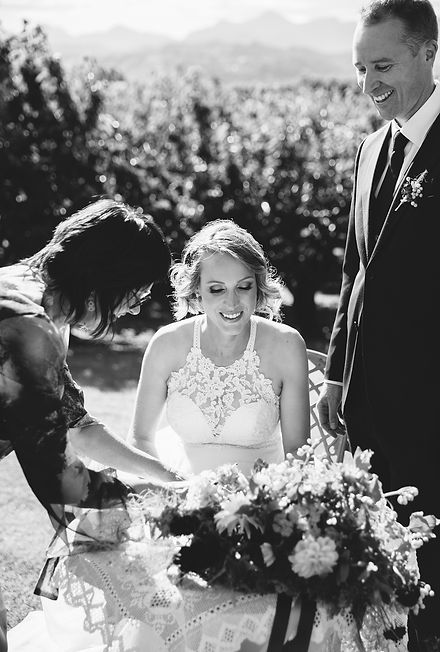 Christina Wedding celebrant in marlborough