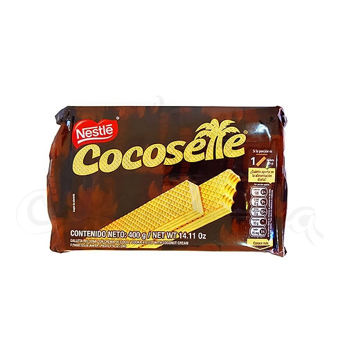 Wafer Cookie Filled with Coconut (Galleta cocosette) - 8pcs