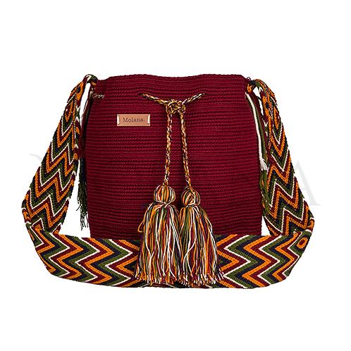 Colombian Artisanal Handbag Wayuu Guayu from Guajira