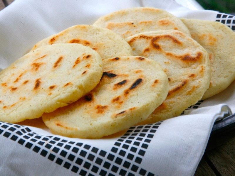 Recipe for making colombian arepas in new zealand