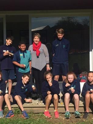 Sir Ed motivates St Thomas' School