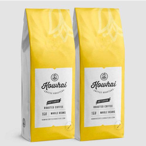 Kowhai Coffee bag online Auckland