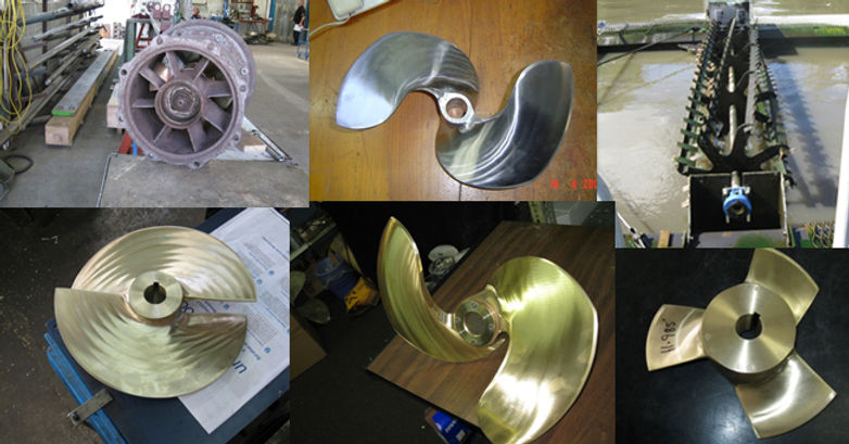 Henleys Propellers and Marine Impellers pumps, stirrers and aerators