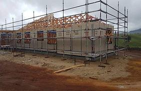 Landmark residential scaffolding