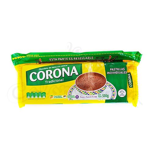 Hot Chocolate Traditional flavor (Corona Tradicional) - 500gr