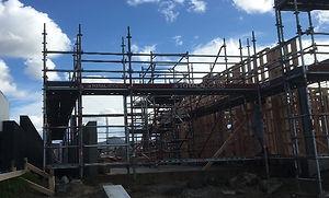 Motuiti road residential scaffolding