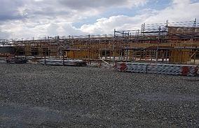 JM Builders residential scaffolding