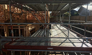 Tuhikarame road residential scaffolding