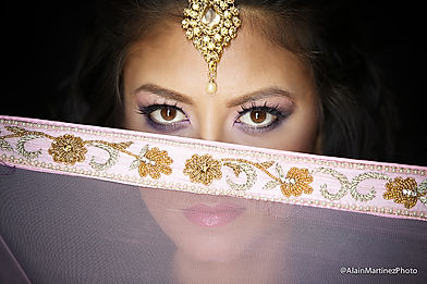 Multicultural brides makeup Brooklyn