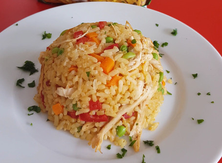 Colombian Chicken rice 4 – 6 servings