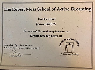 Active Dreaming Teacher Level 3
