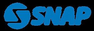 Snap Rentals logo blue