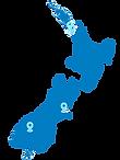 Map of New Zealand Car Rental Locations - Snap Rentals