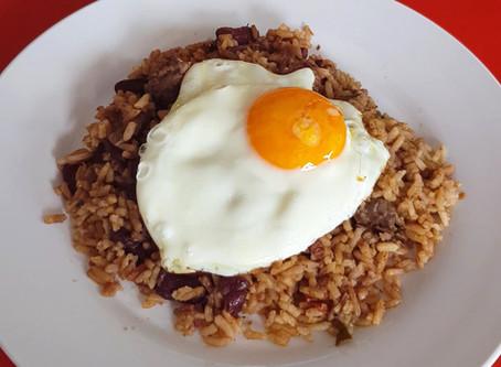 Colombian Calentado rice