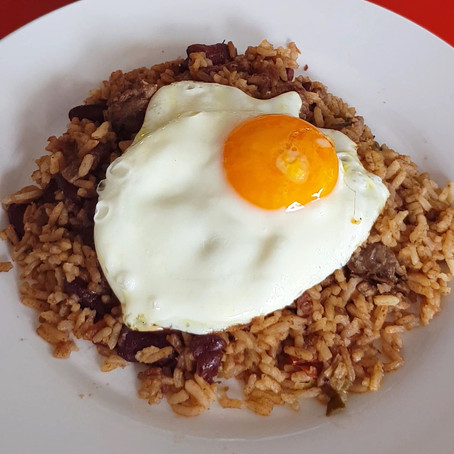 Colombian Calentado rice