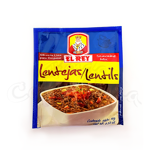 Seasoning mix for Lentils (Mezcla para lentejas el rey) - 20g