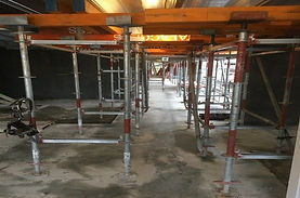 Watts and Hughes Construction Scaffolding