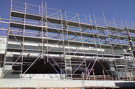 ADCO Construction Scaffolding commercial Project