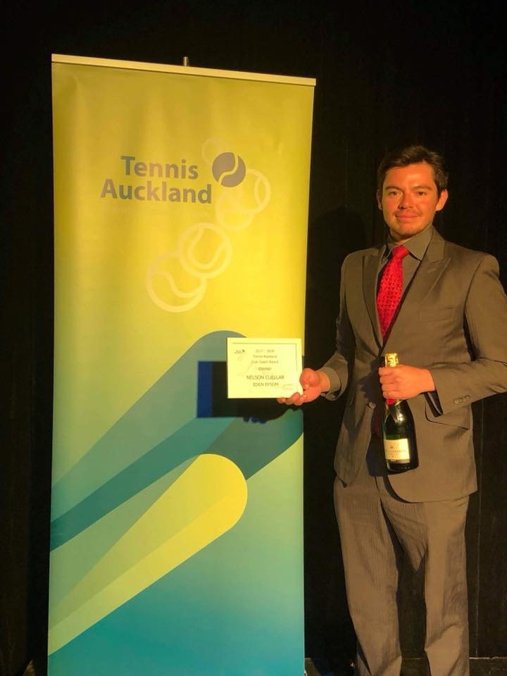 Tennis Auckland Club Coach of the Year