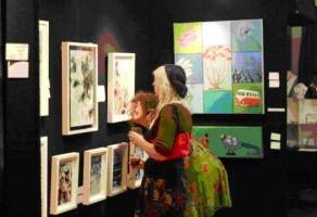 The Ponsonby Cruising Club inaugural art exhibition.