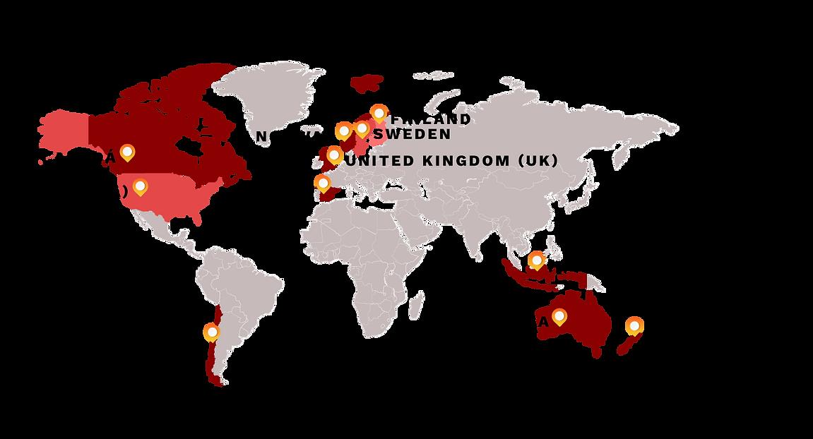 PacFlange conveyor units worldwide