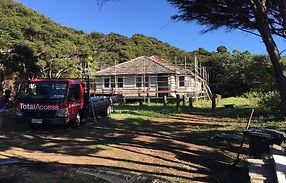 Forbes Whanau Trust residential scaffolding
