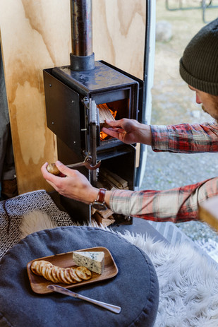 Handcrafted Wood Burners for small spaces in New Zealand