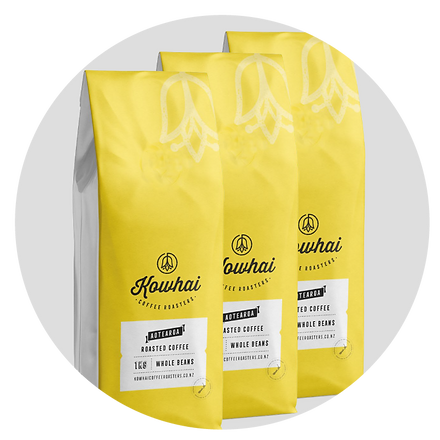whosales Kowhai coffee roasters nz