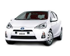 Toyota Aqua Rental Car - Available Across New Zealand