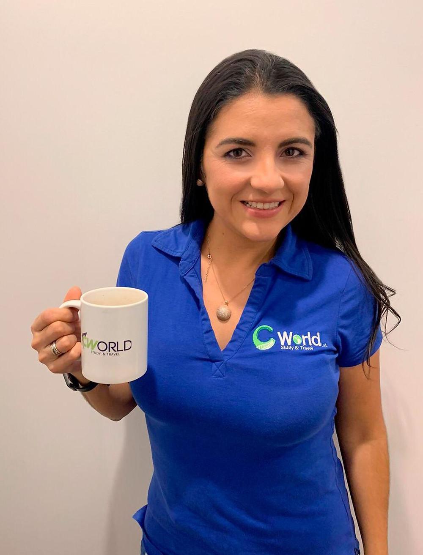Karen Alvarado C World study agency in Auckland